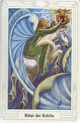 Tarotkarte Ritter Der Kelche