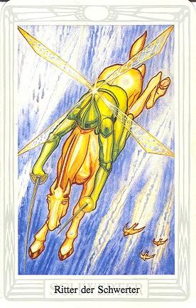 Tarotkarte Ritter Der Schwerter