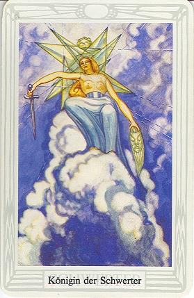 Tarotkarte Königin Der Schwerter