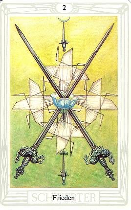 2 Der Schwerter Tageskarte Hindu Tube